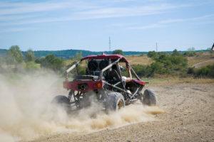 Cross Buggy op piste