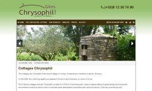 Gîtes CHRYSOPHIL