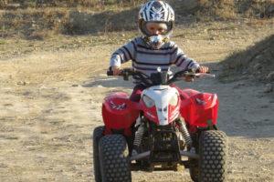 Circuit quad enfant